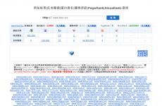 SEO综合查询网首页图片