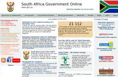 南非政府网首页图片