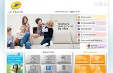 法国邮政公司首页图片