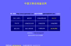 中国文物在线鉴定网