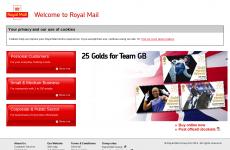 英国皇家邮政首页图片