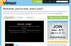 Vimeo首页图片